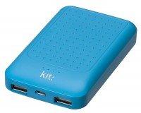 Портативный аккумулятор Kit Essentials Range 6000mAh Blue