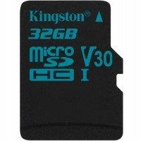 Карта памяти Kingston microSDHC 32GB Class 10 UHS-I U3 R90/W45MB/s