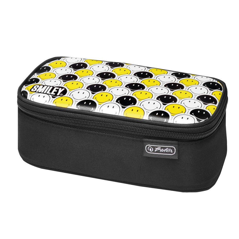 Пенал Herlitz Be.Bag BEAT Beat Box Smileyworld Black & Yellow(50015283) фото