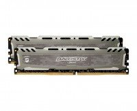Пам'ять для ПК CRUCIAL Ballistix Sport DDR4 2666 16GB (8GBx2) Kit (BLS2C8G4D26BFSBK)