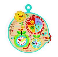 """Развивающая игрушка Janod Календарь """"Времена Года"""" на английском языке (J09620)"""