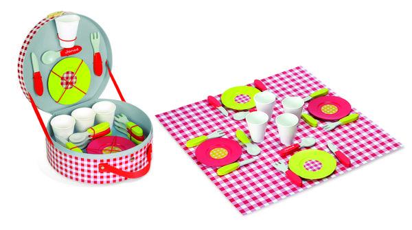 Купить Игровой набор Janod Чемодан для пикника (J06524)