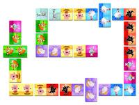 Игра мемо Janod Домино Животные (J02737)