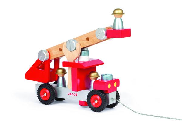 Игровой набор Janod Пожарная машина с инструментами (J06498)