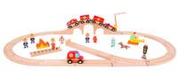 Игровой набор с треком Janod Пожарная команда (J08539)