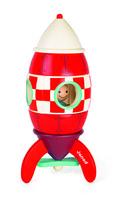 Конструктор магнитный Janod Ракета 32 см (J05212)