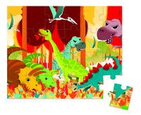 Пазл Janod Динозавры (J02873)