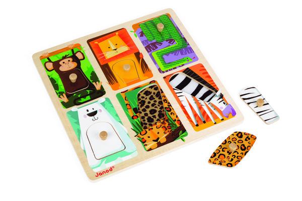 Купить Пазл Janod Животные в зоопарке (J07081)