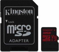 Карта памяти Kingston microSDHC 32GB Class 10 UHS-I U3 R80MB/s + SD-адаптер