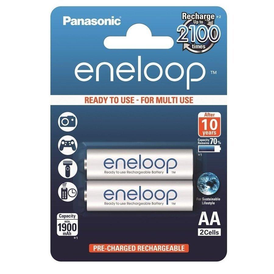 Аккумулятор Panasonic Eneloop AA 1900 mAh 2 шт фото