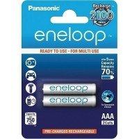 Аккумулятор Panasonic Eneloop AAA 750 mAh 2 шт