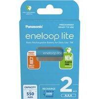 Аккумулятор Panasonic Eneloop Lite AAA 550 mAh 2 шт