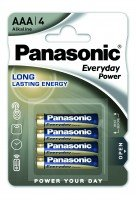 Батарейка Panasonic Everyday Power AAA Alkaline 4 шт (LR03REE/4BR)