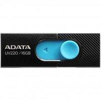 Накопитель USB 2.0 ADATA UV220 16GB (AUV220-16G-RBKBL)