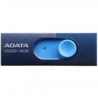 Накопичувач USB 2.0 ADATA UV220 16GB (AUV220-16G-RBLNV)