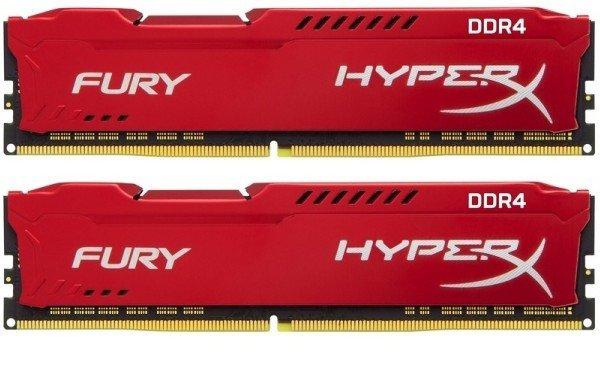 Купить Оперативная память - ОЗУ, Память для ПК Kingston DDR4 2933 32GB (16GBx2) HyperX Fury (HX429C17FRK2/32)