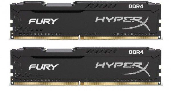 Купить Память для ПК Kingston DDR4 3200 32GB (16GBx2) HyperX Fury (HX432C18FBK2/32)