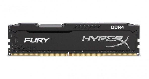 Память для ПК Kingston DDR4 2933 32GB (16GBx2) HyperX Fury (HX429C17FBK2/32)  - купить со скидкой