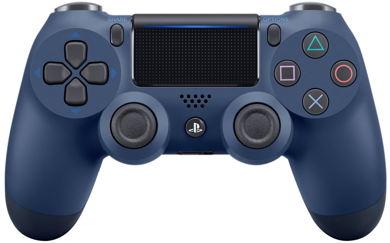 Беспроводной геймпад SONY Dualshock 4 V2 Midnight Blue для PS4 (9874768) фото 1