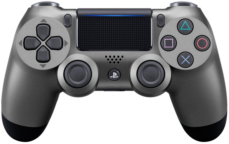 Беспроводной геймпад SONY Dualshock 4 V2 Steel Black для PS4 (9357179) фото 1