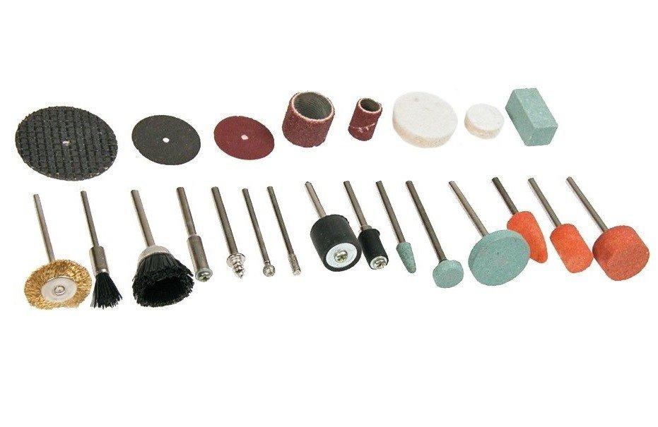 Набор принадлежностей для минидрели/гравера Verto (50G029) фото