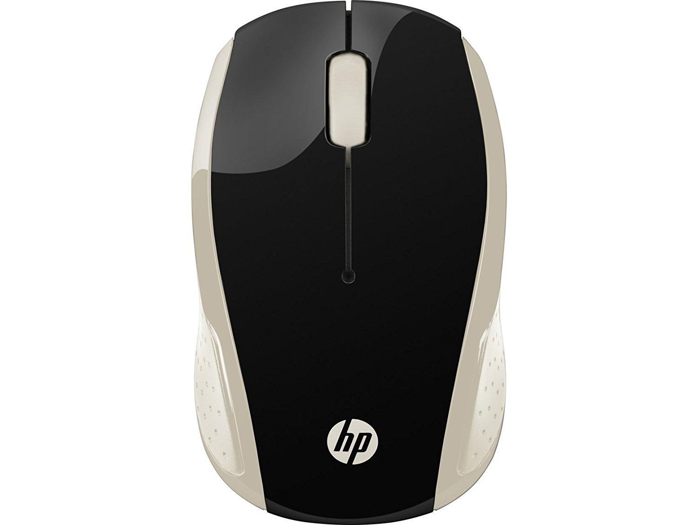 Мышь HP Wireless Mouse 200 Silk Gold (2HU83AA) фото