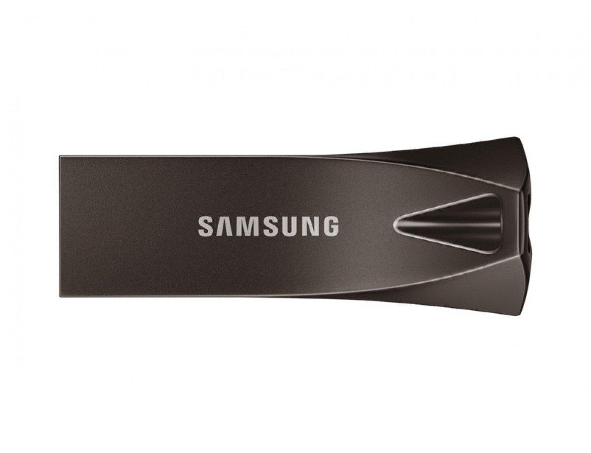 Накопичувач USB 3.1 SAMSUNG BAR 32GB Titan Gray (MUF-32BE4/APC) фото1