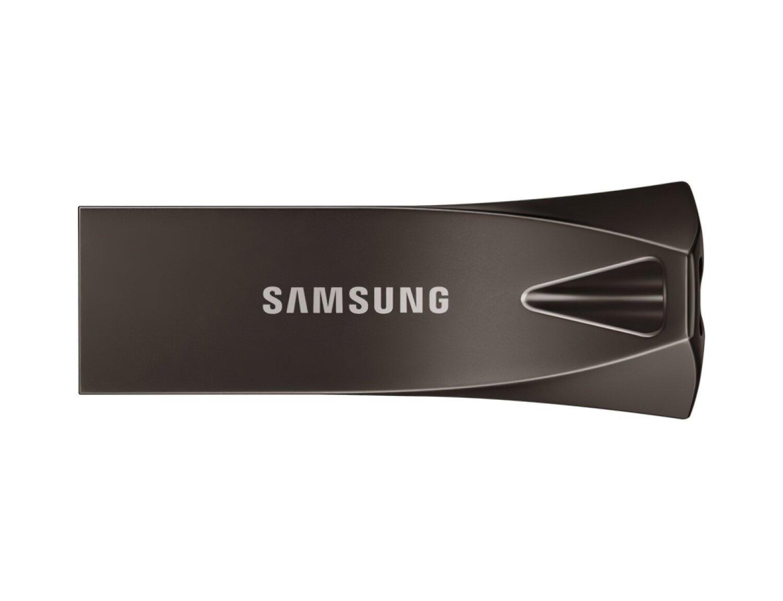 Накопичувач USB 3.1 SAMSUNG BAR 256GB Titan Gray (MUF-256BE4/APC) фото1