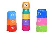 Набор для игры с песком Same Toy Чашки 10 ед (618-2Ut)