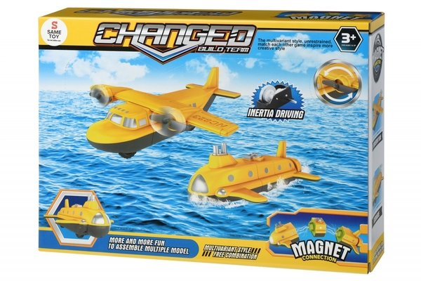 Магнитный конструктор Same Toy Самолет (8803Ut)  - купить со скидкой