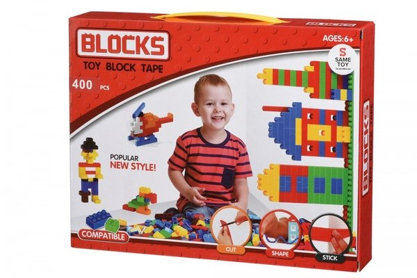 Купить Конструктор Same Toy Block Tape 400 ед (804Ut)
