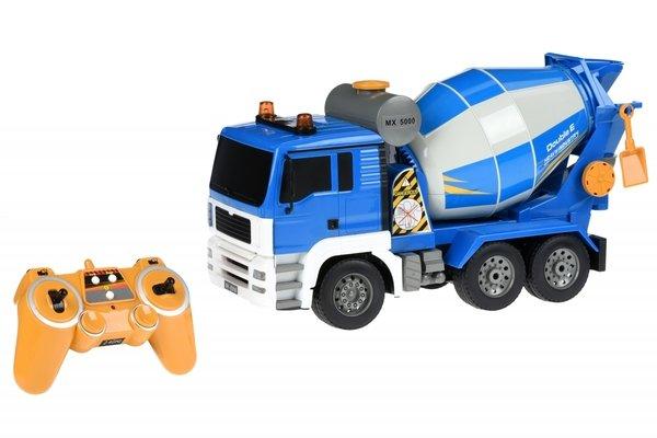 Машинка на р/у Same Toy Бетономешалка синяя (E518-003)  - купить со скидкой