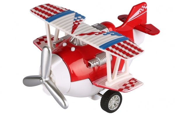 Купить Самолет металический инерционный Same Toy Aircraft красный со светом и музыкой (SY8012Ut-3)