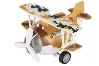 Самолет металический инерционный Same Toy Aircraft коричневый со светом и музыкой (SY8015Ut-3)