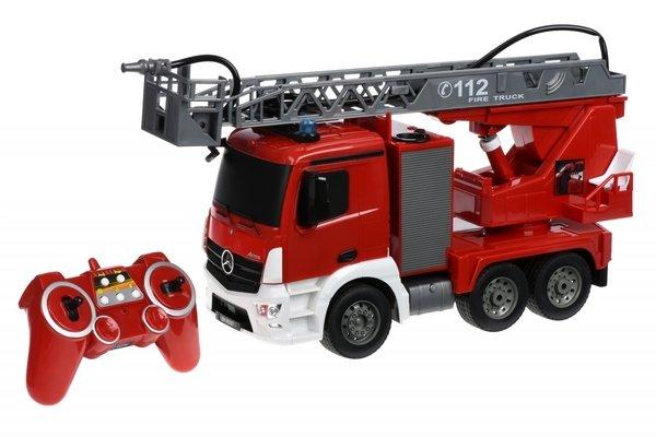 Купить Машинка на р/у Same Toy Пожарная машина Mercedes-Benz с лесницей 1:20 (E527-003)