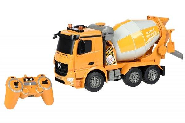 Купить Машинка на р/у Same Toy Бетономешалка желтая Mercedes-Benz 1:20 (E528-003)