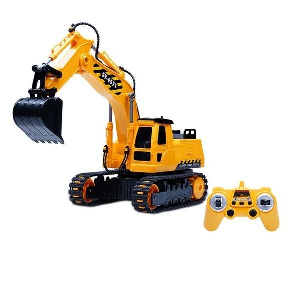 Машинка на р/у 3 в 1 Same Toy Инженерный экскаватор (E571-003)  - купить со скидкой