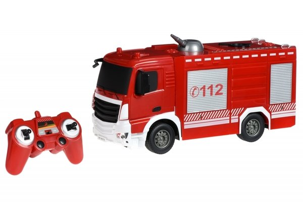 Машинка на р/у Same Toy Пожарная машина с распыльтелем воды (E572-003)  - купить со скидкой