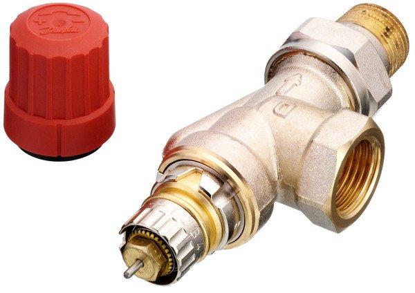 Радиаторный клапан осевой Danfoss RA-N 15 термостатический, вх.1/2 - вых.1/2 (013G0153)  - купить со скидкой