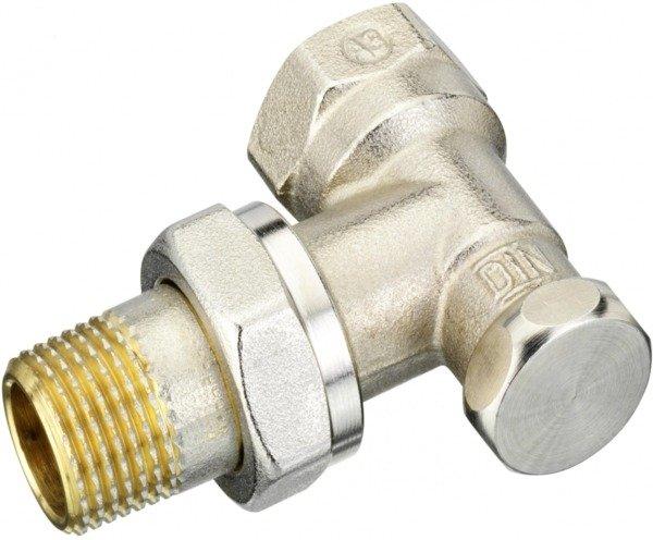 danfoss Запорный клапан угловой Danfoss RLV-S 15, вх.1/2 - вых.3/4 (003L0123)