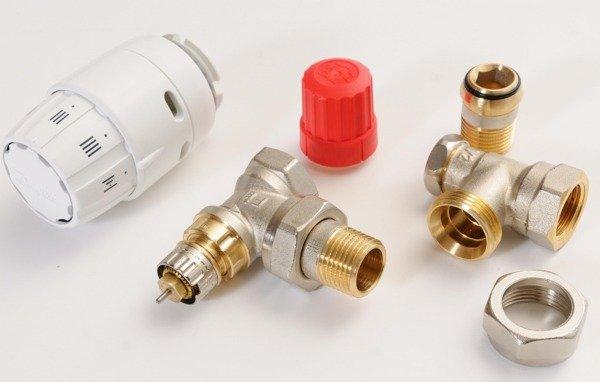 Купить Комплект радиаторных терморегуляторов Danfoss RAS-C2 + RA-N + RLV-S 1/2 , угловой (013G2219)