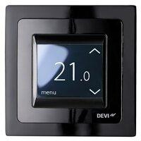 Терморегулятор сенсорный DEVI Devireg Touch Black