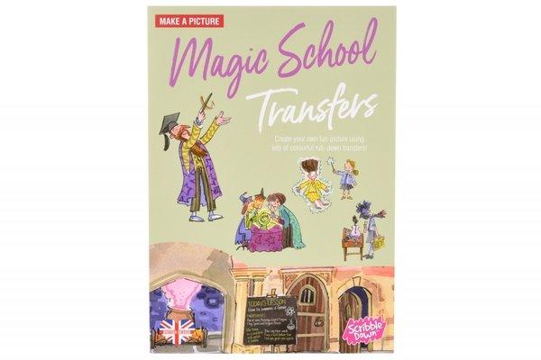 Переводные наклейки Scribble Down Школа магии (SD/05)  - купить со скидкой