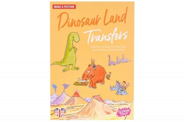 Купить Переводные наклейки Scribble Down Страна динозавров (SD/08)