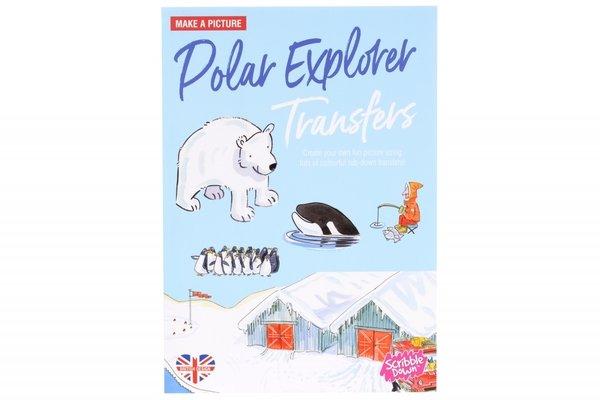 Купить Переводные наклейки Scribble Down Северный полюс (SD15)