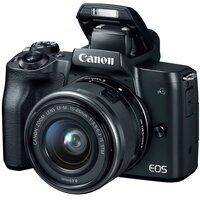 Фотоаппарат CANON EOS M50 + 15-45mm IS STM Black (2680C060)