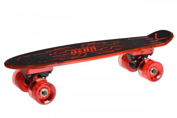 Скейтборд Neon Hype Red (N100788)