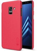 Чехол NILLKIN для Galaxy A8 2018 (A530) Frosted Shield Red