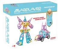 Конструктор Magplayer магнитный набор 109 эл. (MPH2-109)