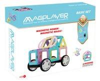 Конструктор Magplayer магнитный набор 28 эл. (MPH2-28)